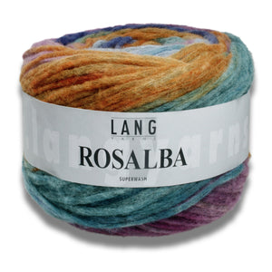 ROSALBA - Lang Yarns | 300/100|72% Schurwolle (Merino extrafine)  28% Polyamid  Superwash