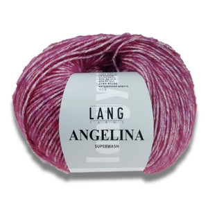 ANGELINA - Lang Yarns | 150/50|60% Seide  40% Schurwolle (Merino extrafine)  Superwash
