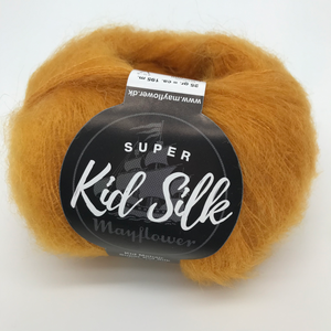 Super Kid Silk - Mayflower  | ca. 195 m / 25 g | 76 % Mohair, 24 % Seide