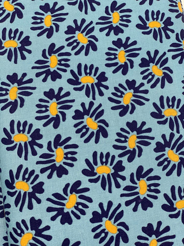 Cotton-Nordic Garden Dream-Solhatt-Blue- Arne & Carlos