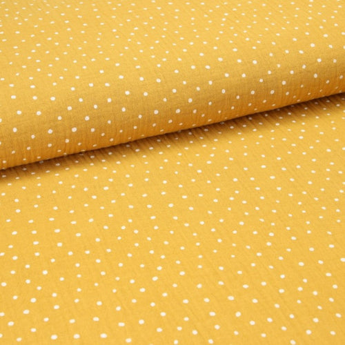 Double Gauze Design Little Dots - 130 g/m² ca.132 cm