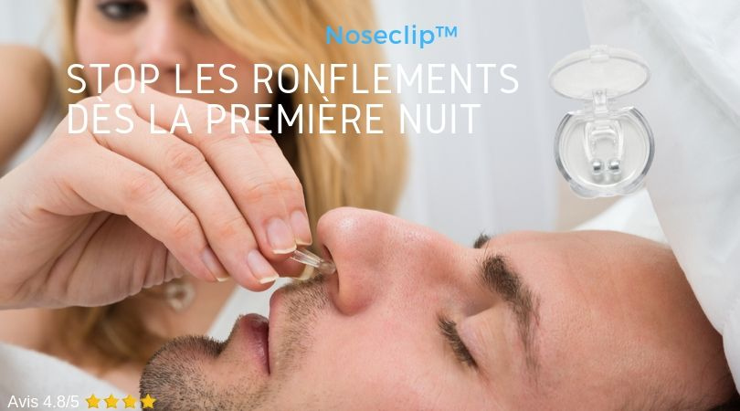 Noseclip | Noseclip anti ronflement