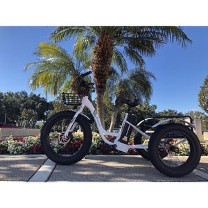 Electric Bike - Emojo Caddy Electric Trike 48V 500W
