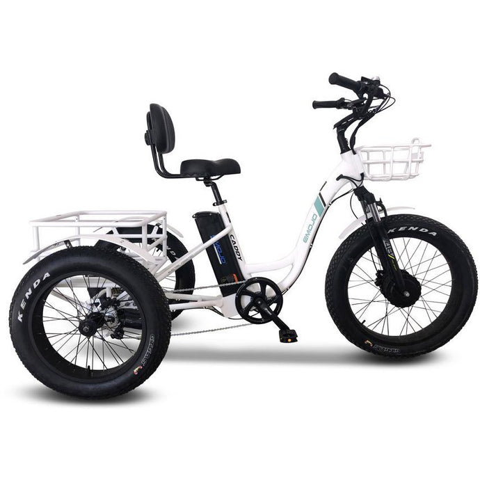 Electric Bike - Emojo Caddy Pro Electric Trike 48V 500W