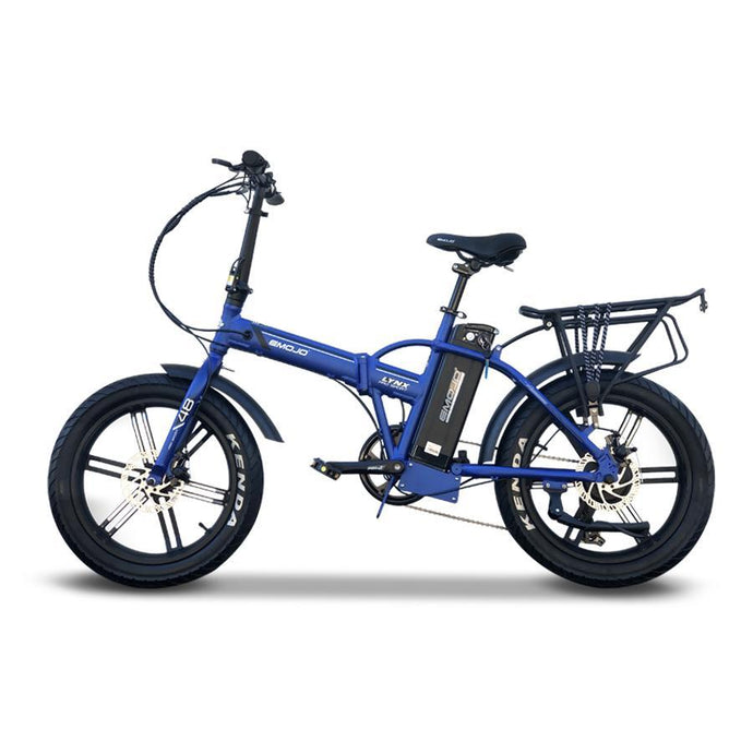 Electric Bike - Emojo Lynx Pro Sport Fat Tire Foldable Electric Bike 48V 500W