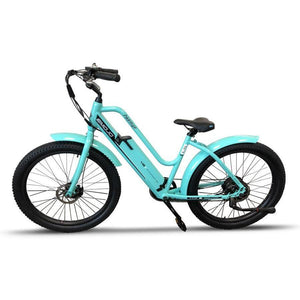 Electric Bike - Emojo Panther Cruiser Electric Bike 48V 500W
