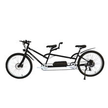 Load image into Gallery viewer, Electric Bike - Micargi Raiatea Tandem Electric Bike 500 Watts 48V - BLACK
