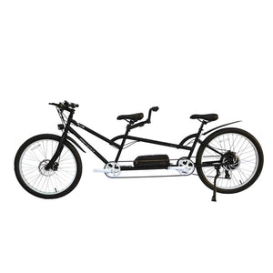 Electric Bike - Micargi Raiatea Tandem Electric Bike 500 Watts 48V - BLACK