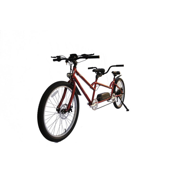 Electric Bike - Micargi Raiatea Tandem Electric Bike 500 Watts 48V - RED