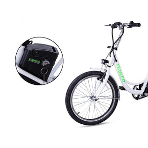 "Electric Bike - Nakto City Elegance 22"" Step-Thru 36V 250W"