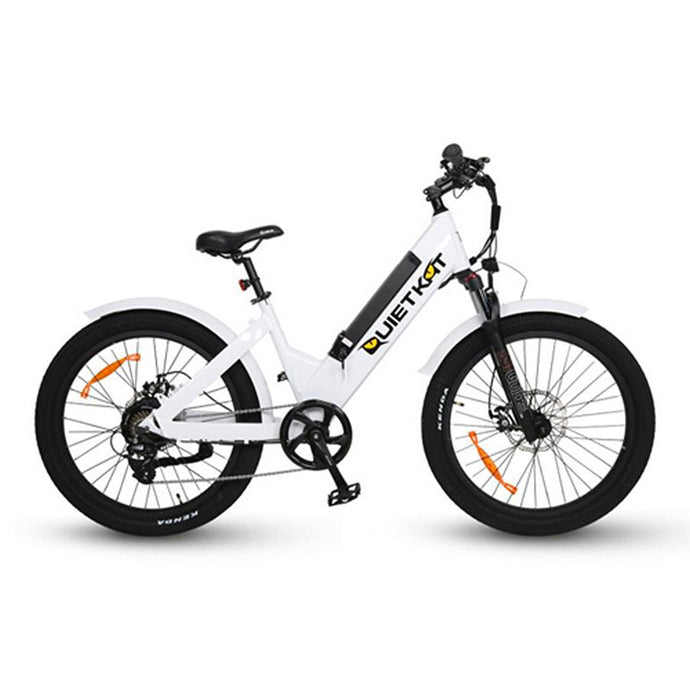 Electric Bike - QuietKat Villager Commuter E-Bike 500W, 48V 11.6 Ah
