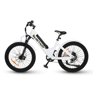Electric Bike - QuietKat Villager Commuter E-Bike 500W, 48V 11.6 Ah - RED