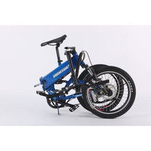 Load image into Gallery viewer, Electric Bike - X-Treme E-Rider Mini Foldable Electric Bike 48v 500W - BLUE
