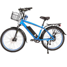 Load image into Gallery viewer, Electric Bike - X-Treme Laguna Beach Cruiser Electric Bike 48V 500W - BLUE