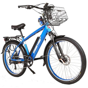 Electric Bike - X-Treme Laguna Beach Cruiser Electric Bike 48V 500W - BLUE