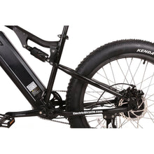 Load image into Gallery viewer, Electric Bike - X-Treme Rocky Road 500W 48 Volt Fat Tire Electric Mountain Bicycle - BLACK