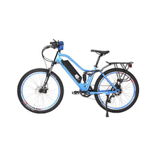 Load image into Gallery viewer, Electric Bike - X-Treme Sedona Step-Through Mountain Electric Bike 48V 500W - BABY BLUE