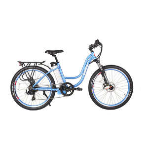X-Treme Trail Climber Elite Step Through Electric Bicycle - 24V, 300 Watt