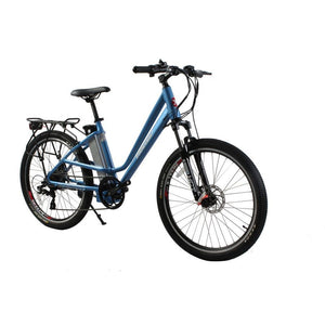 X-Treme Trail Climber Elite Step Through Electric Bicycle - 36 Volt, 350 Watts