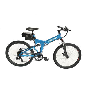 X-Treme XC-36 Electric 36 Volt Folding Mountain Bicycle - 350 Watts, 36V