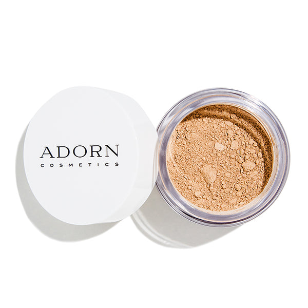 Adorn Cosmetics Anti-Aging SPF 20 Mineral Foundation - Dark Tan - ECOLONE Beauty