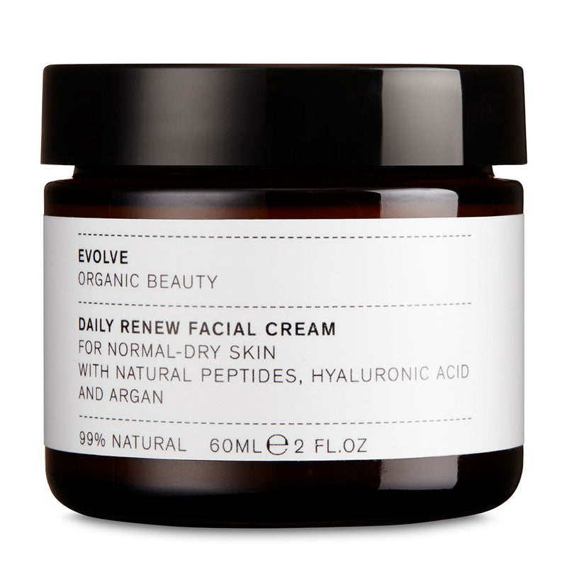 Evolve Organic Beauty Daily Renew Facial Cream - ECOLONE Beauty