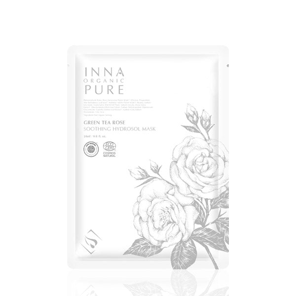 Inna Organic Green Tea Rose Soothing Hydrosol Mask - ECOLONE Beauty