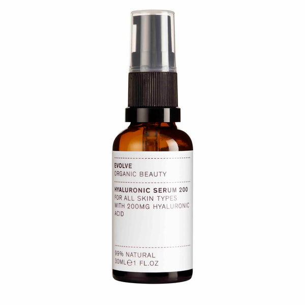 Evolve Organic Beauty Hyaluronic Serum 200 - ECOLONE Beauty