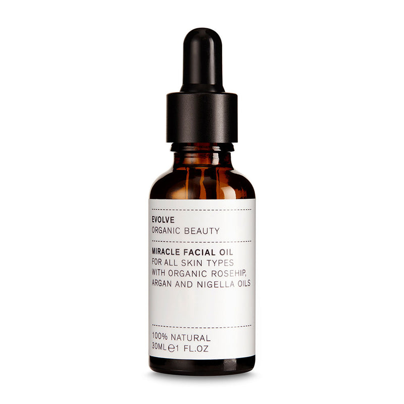 Evolve Organic Beauty Miracle Facial Oil - ECOLONE Beauty