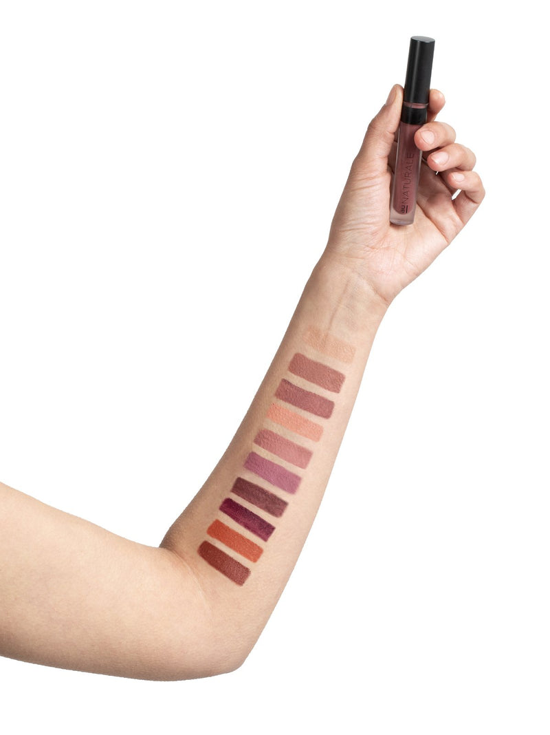Au Naturale SuStain Liquid LipStick Purple Reign - ECOLONE Beauty