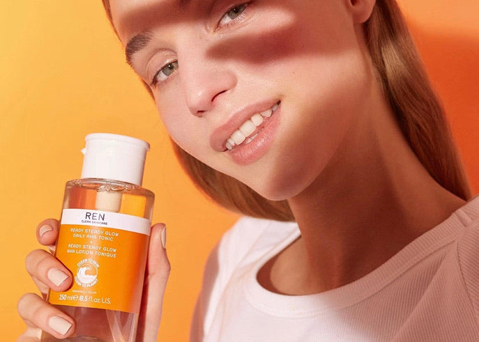 Ren Clean Skincare Ready Steady Glow Daily AHA Tonic - ECOLONE Beauty