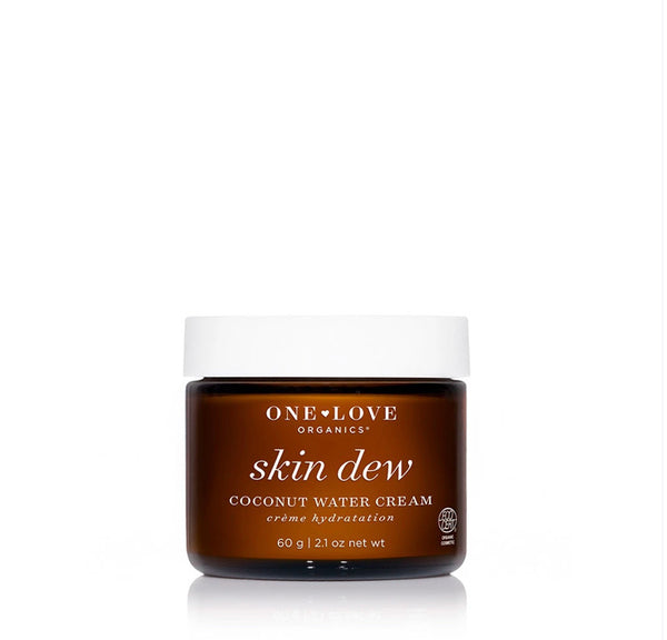 One Love Organics Skin Dew Coconut Water Cream - ECOLONE Beauty
