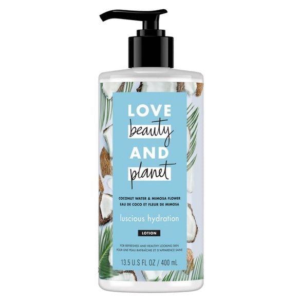 Love Beauty And Planet Coconut Water & Mimosa Flower Lotion - ECOLONE Beauty