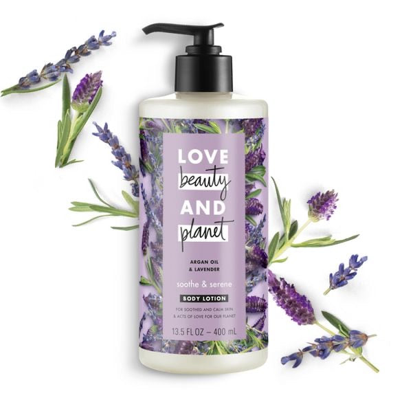 Love Beauty and Planet Argan Oil & Lavender Body Lotion - ECOLONE Beauty