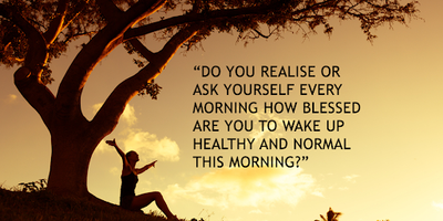 HOW BLESSED ARE YOU…
