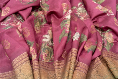 TUSSAR SILK SAREE - R1702