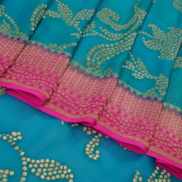 Banarsi Georgette Saree - R1844