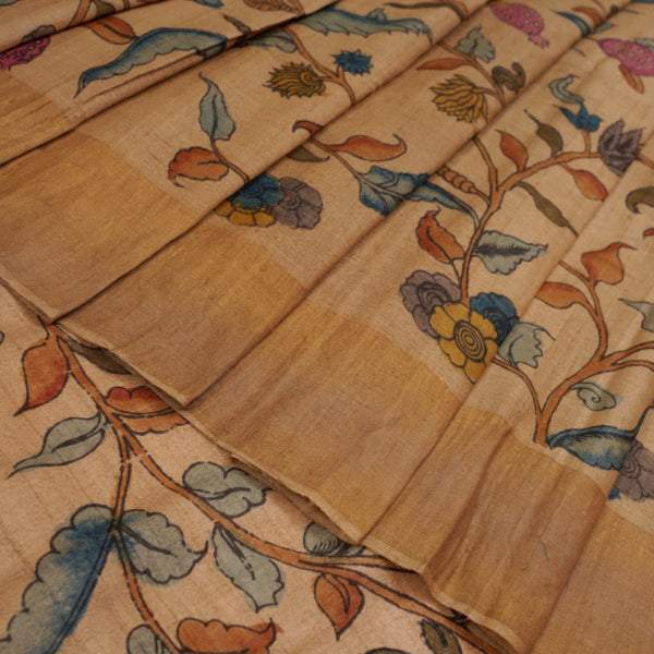 Tussar Silk Saree - R4532