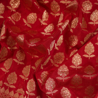 Katan Silk Saree - R4434