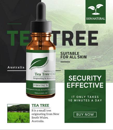 Natural Tea Tree Essential Oil