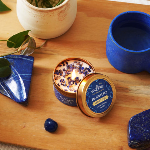 Crystal-infused Wellness Candle