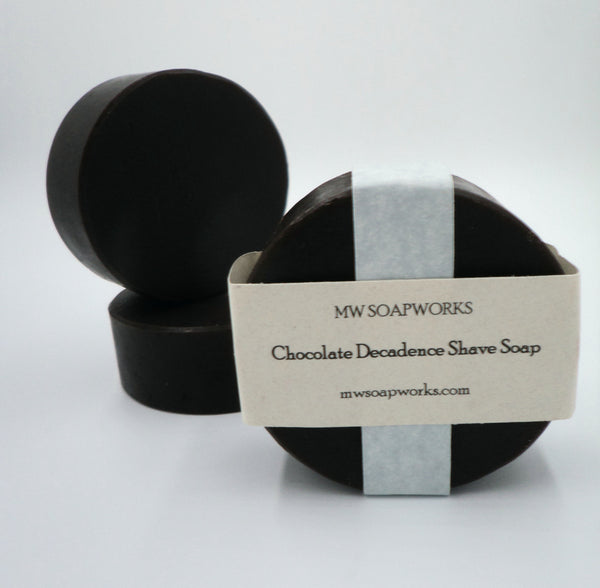 Chocolate Decadence Bentonite Shave Soap