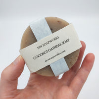 Coconut Oatmeal Exfoliating Soap