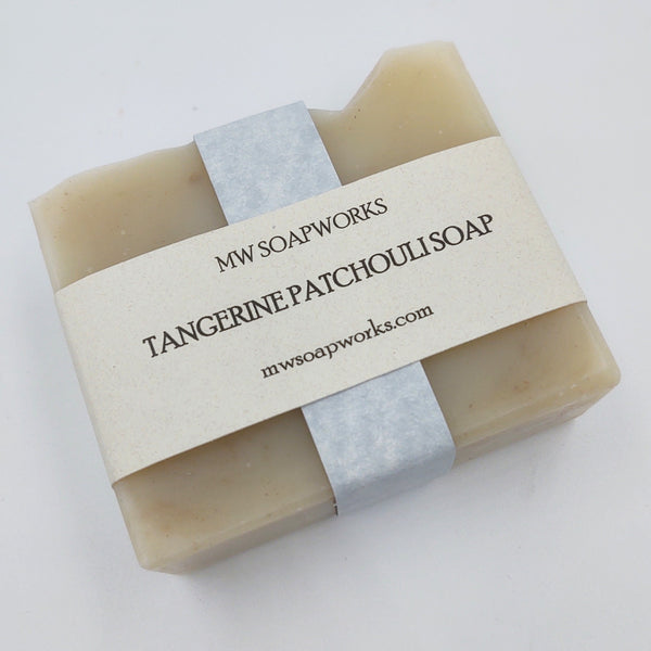 Tangerine Patchouli Soap