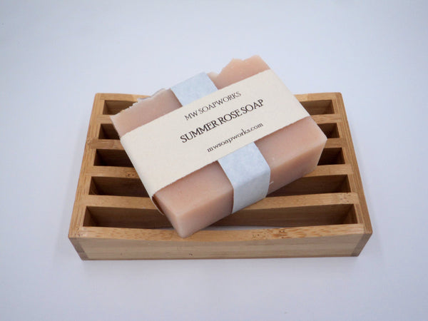 Summer Rose Soap Bar