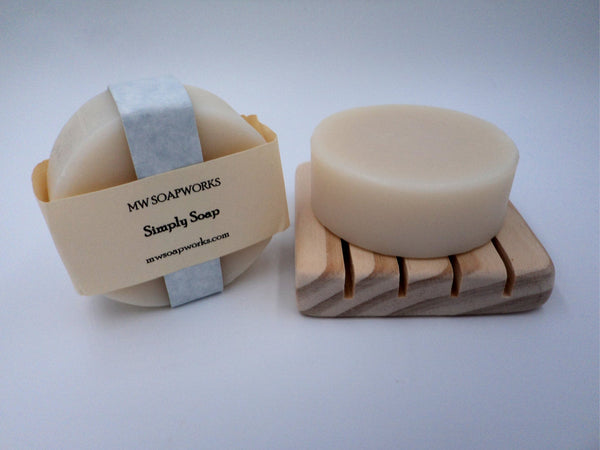 Simply Unscented Soap