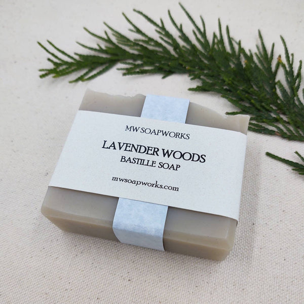 Lavender Woods Bastille Bar Soap