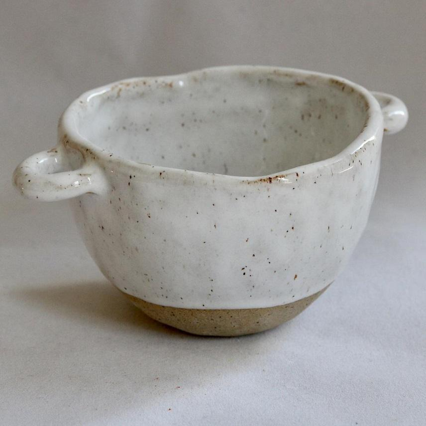 Bowl | White Speckle - JulesCeramics