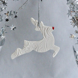 Red Nosed Reindeer | Christmas Decoration