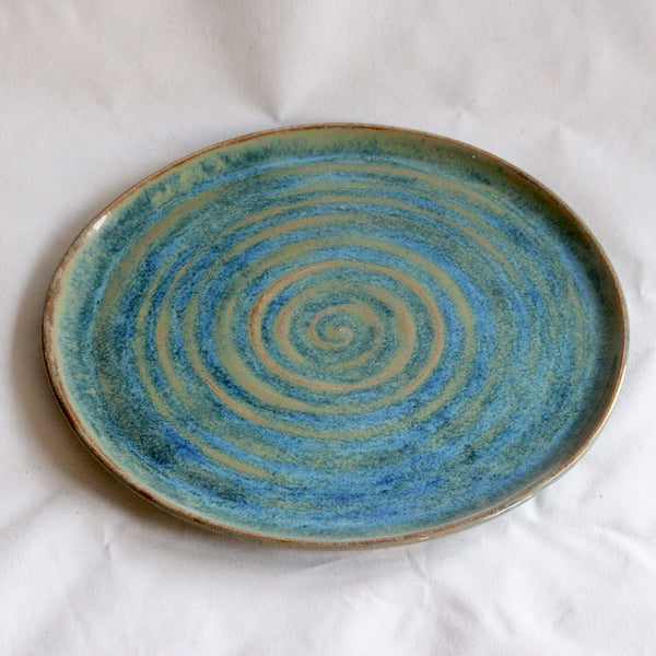Marine Blue Serving Plate